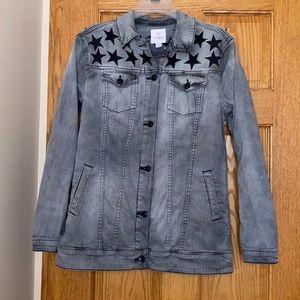 LulaRoe gray denim jacket